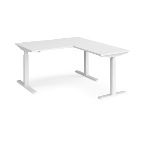 Elev8 Touch Height Adjustable Desk with Return