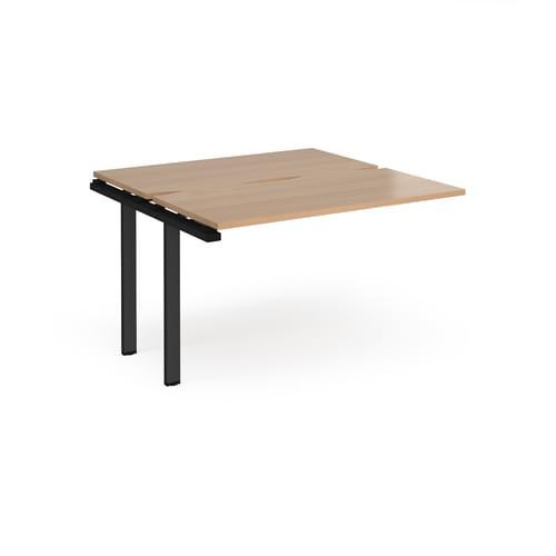 Adapt Sliding Top Bench Desk Add On Unit