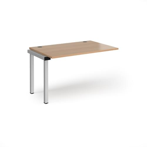 Connex Office Desk Single Add On Unit 800mm deep