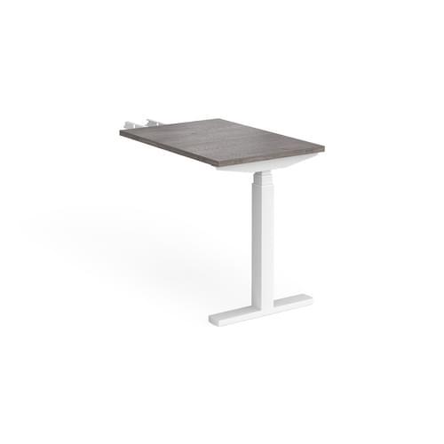Elev8 Touch Height Adjustable Single Desk Return 800mm deep