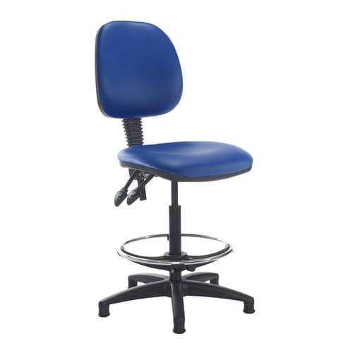 Jota Draughtsmans Chair With Vinyl Fabric