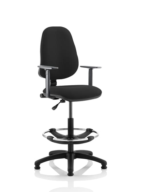Eclipse Plus I Lever Task Operator Draughtsman Chair Bespoke Colour