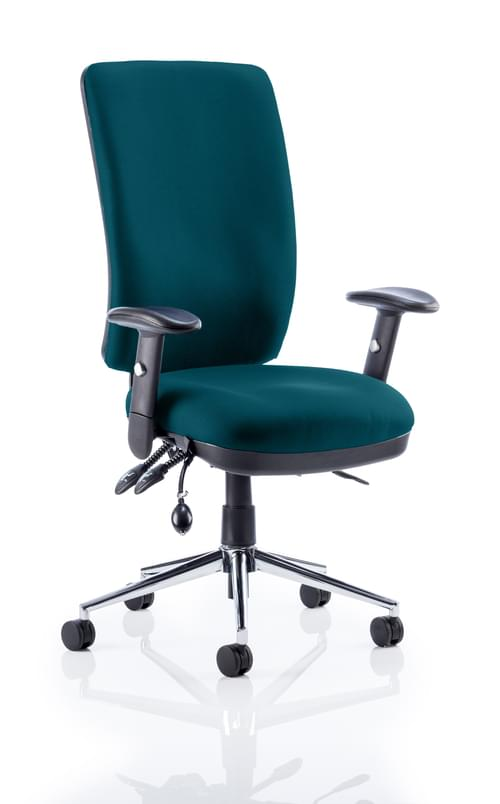 Chiro High Back Bespoke Colour Executive Operators Chair