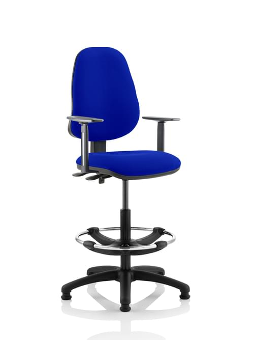 Eclipse Plus II Lever Draughtsman Chair Bespoke Colour