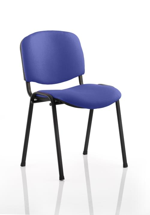 ISO Stacking Meeting Chair Bespoke Colour Fabric