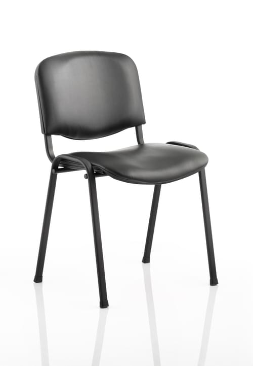 ISO Stacking Chair Vinyl Fabric Without Arms