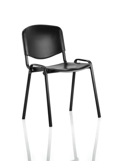 ISO Stacking Chair Poly Material Without Arms