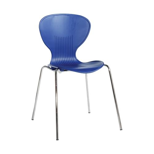 Sienna One Piece Shell Chair 4 Pack