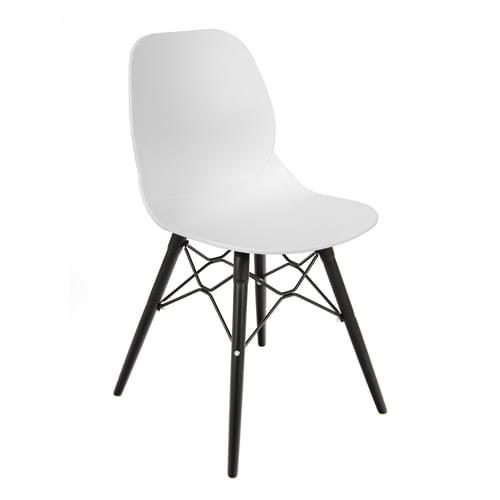 Strut Multi-Purpose Chair With Black Oak Frame