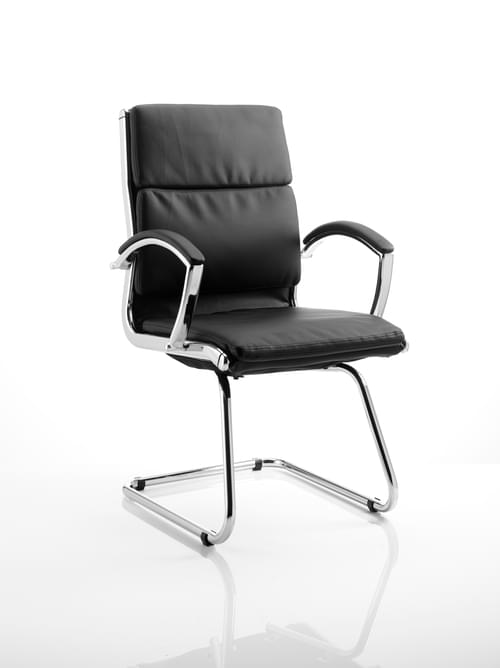 Classic Cantilever Executive Meeting Chair With Arms