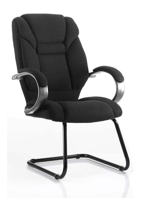 Galloway Cantilever Fabric Executive Meeting Chair