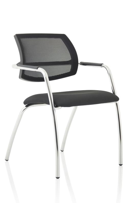 Swift Mesh Straight Leg Visitor Chair