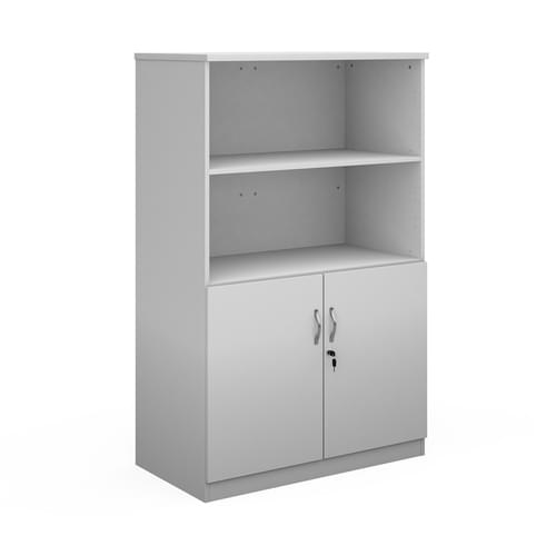 Deluxe combination unit with open top