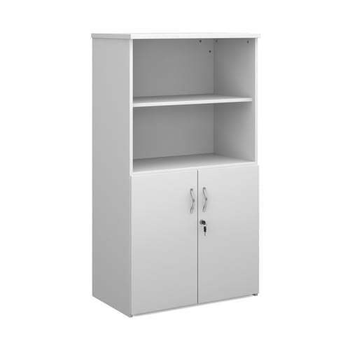 Duo combination unit with open top