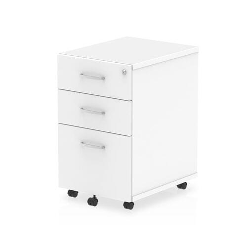 Impulse 3 Drawer Under Desk Pedestal