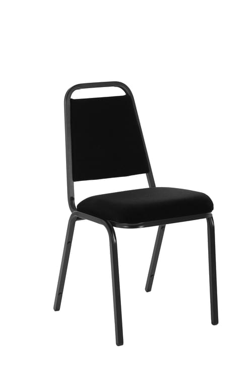 Banqueting Stacking Visitor Chair Black Frame