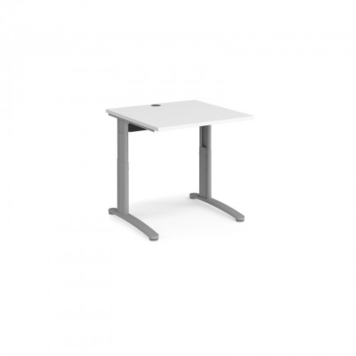 TR10 Height Settable Cable Managed Straight Desk