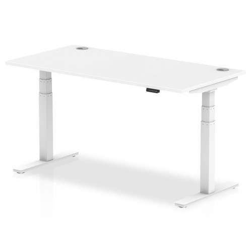 Air Height Adjustable Desk with Cable Ports