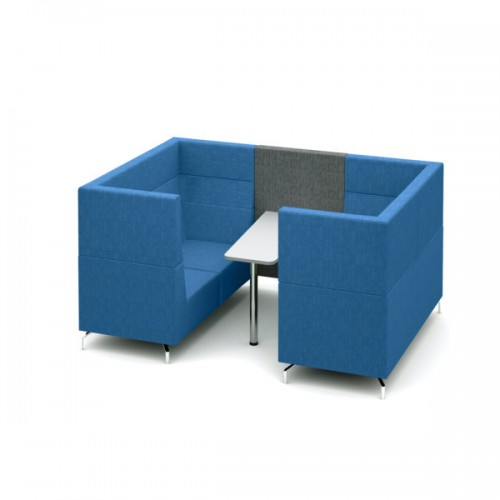 Alban Pod 4 person medium sized meeting booth - made to order
