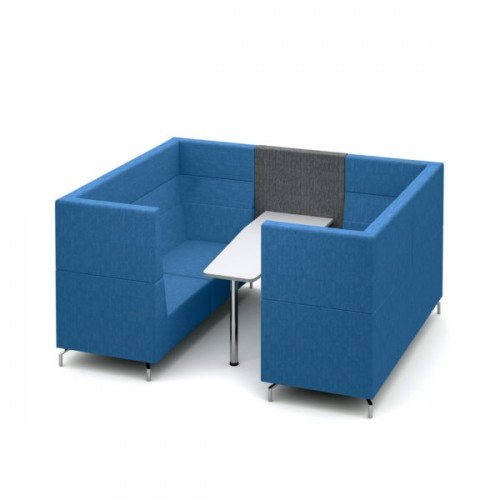 Alban Pod 6 person medium sized meeting booth - made to order