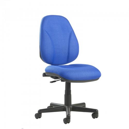 Bilbao Fabric Operators Chair With Lumbar Support