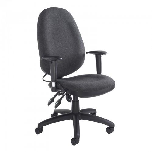 Sofia Adjustable Lumbar Support Operators Chair
