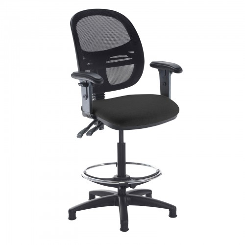 Jota Mesh Back Draughtsmans Chair