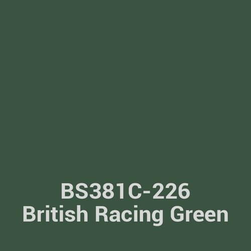 Silverline Executive 3 Drawer Individually Locking Foolscap Filing Cabinet - British Racing Green