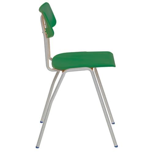 Metalliform BS Traditional School Classroom Chair - 310mm 4-6 Years - Green
