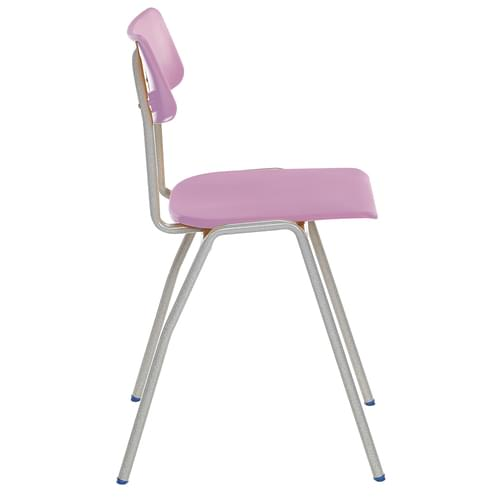 Metalliform BS Traditional School Classroom Chair - 350mm 6-8 Years - Lilac