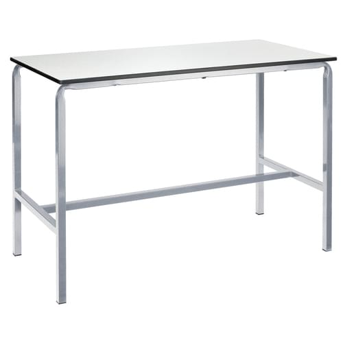 Metalliform Crushed Bent School Craft and Science Table - 1500 x 750mm - Alisa 800mm High