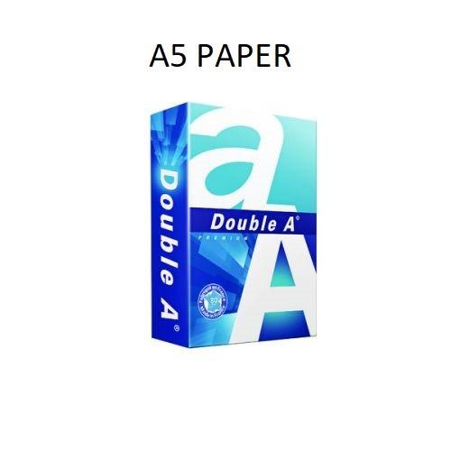 A5 PAPER Premium Copier Paper 80gsm Ream Bright White DA80A5