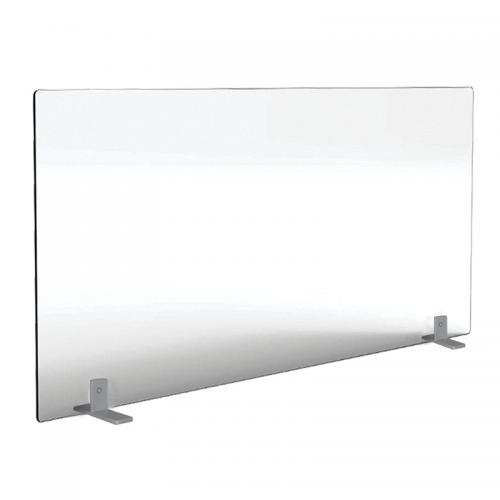 Free Standing Acrylic Desk Screen 1800mm