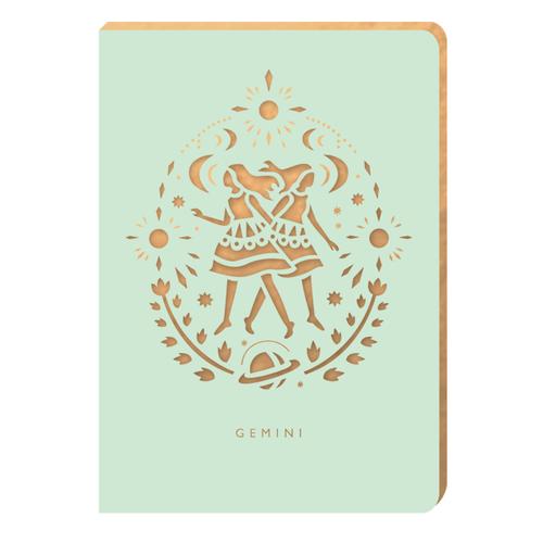 Gemini Notebook - Zodiac Collection