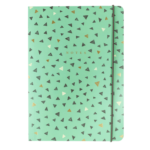 Sketchy Triangle A5 Notebook