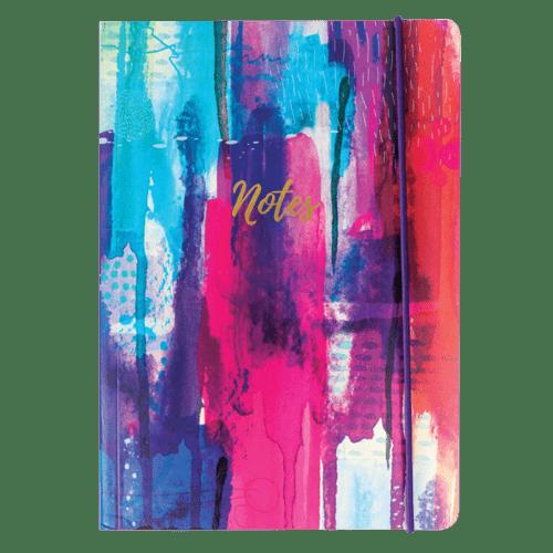 Inky Splash A5 Notebook