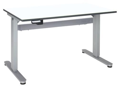 Metalliform Motorised Height Adjustable HA800 Wheelchair Accessible Classroom Table 1500 x 750mm - White
