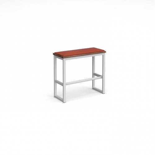 Otto Poseur benching solution high bench 850mm wide with upholstered seat pad - made to order