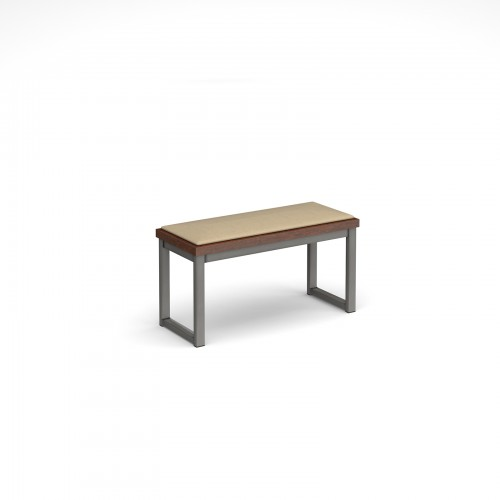 Otto Urban benching solution low bench 850mm wide with upholstered seat pad - made to order