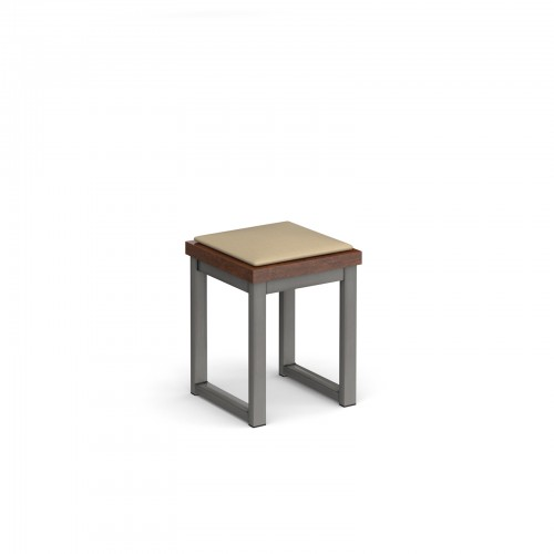 Otto Urban benching solution low stool 350mm wide with upholstered seat pad - made to order