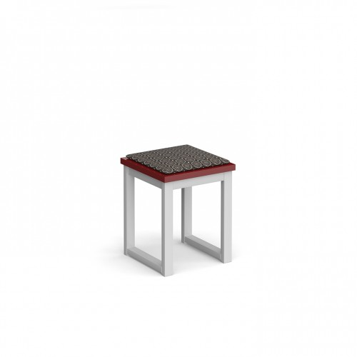 Otto benching solution low stool 350mm wide with upholstered seat pad - made to order