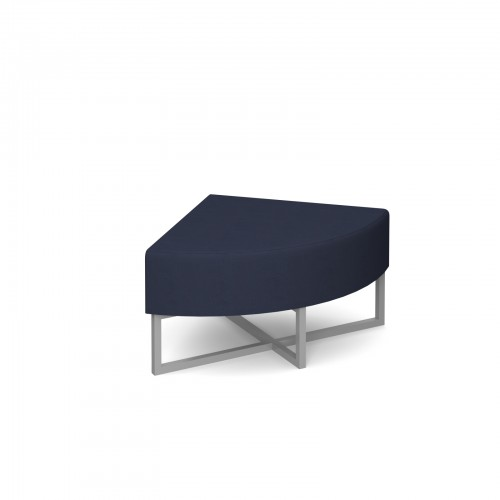 Nera modular soft seating corner unit fully upholstered - made to order - Band C
