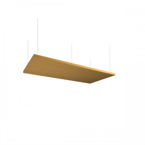 Piano acoustic 25mm thick large rectangular ceiling tile 595mm x 1195mm - made to order