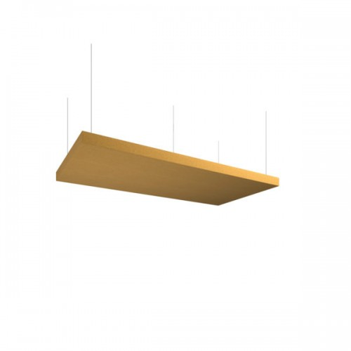 Piano acoustic 50mm thick large rectangular ceiling tile 595mm x 1195mm - made to order