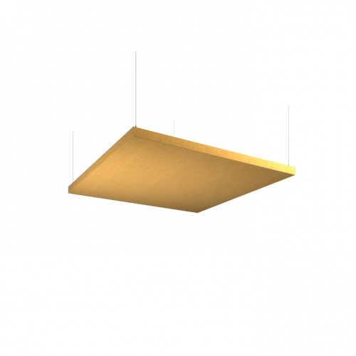 Piano acoustic 50mm thick large square ceiling tile 1195mm x 1195mm - made to order