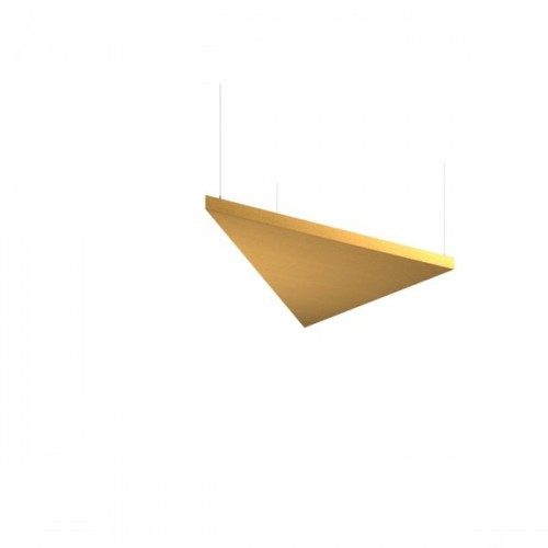 Piano acoustic 50mm thick large triangular ceiling tile 1190mm x 1190mm - made to order