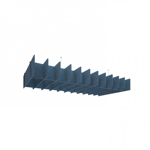 Piano acoustic scales lattice shaped suspended ceiling panels