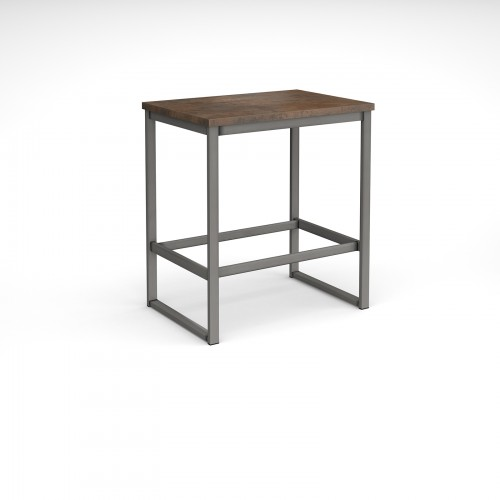 Otto Urban Poseur benching solution dining table 1000mm wide with 25mm MDF top - made to order