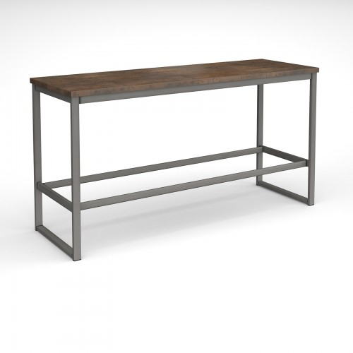 Otto Urban Poseur benching solution dining table 2400mm wide with 25mm MDF top - made to order