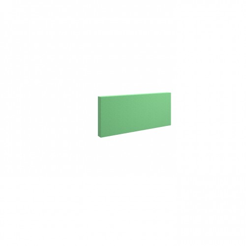 Piano acoustic 50mm thick small rectangular wall tile 295mm x 595mm - made to order